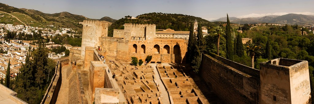 Panorama of Alhambra 2011