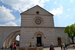 Basilica of St. Clare in Assisi, Umbria - Italy