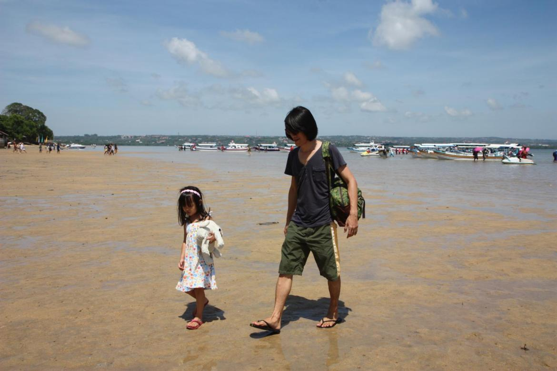 arrived at Pulau Penyu