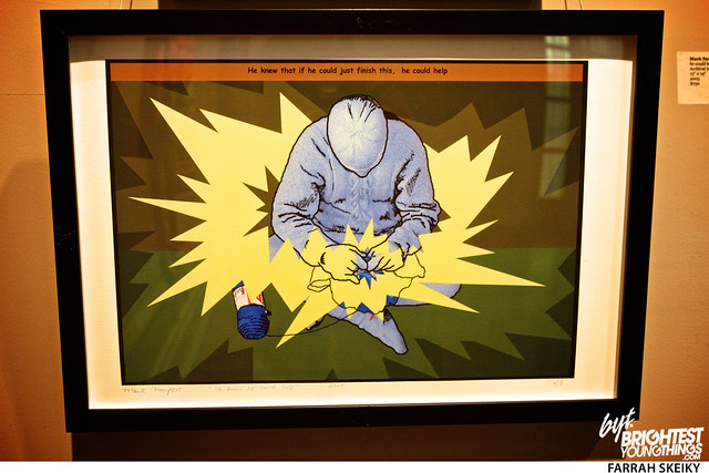 The Art of Comic Books Mansion at Strathmore Brightest Young Things Farrah Skeiky 21