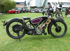 Vintage Scott Motorcycle