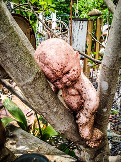 Creepy Baby in a Tree