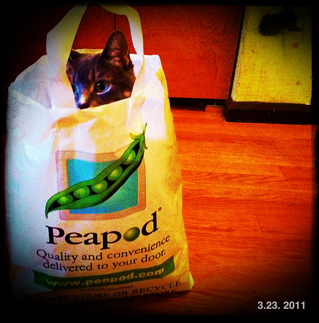 A fan of Peapod
