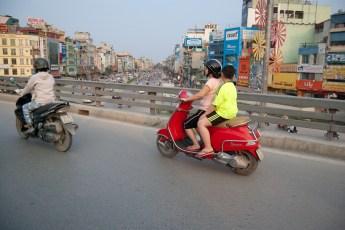Traffic Hanoi, Vietnam