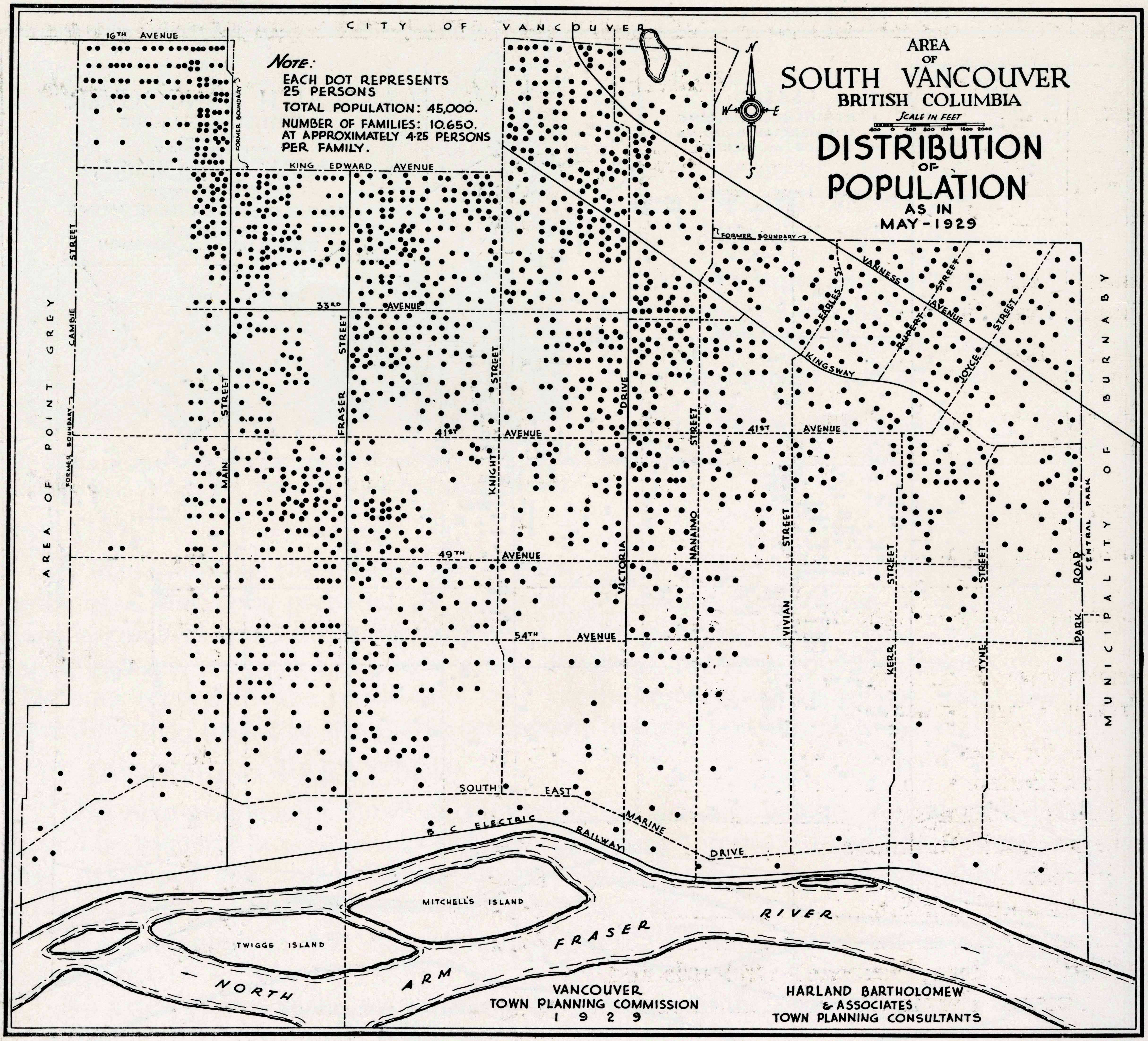 A Plan for the City of Vancouver, British Columbia, includ