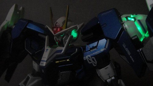 Custom Painted MG 00 Raiser Metal Build Color Scheme with Stand CF GundamPH (8)