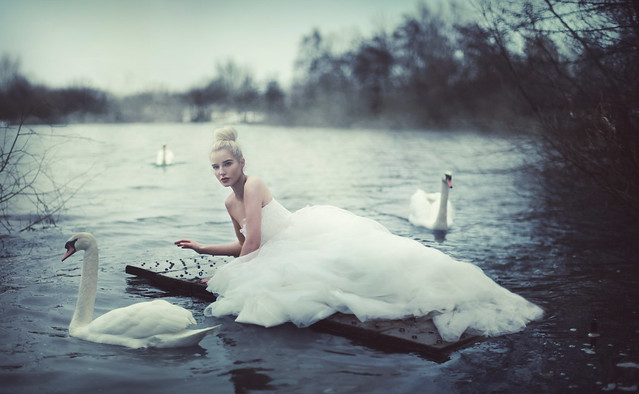 Swan Lake - Helen Flanagan Photoshoot