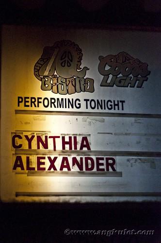 Cynthia Alexander Send Off Gig at 70s Bistro