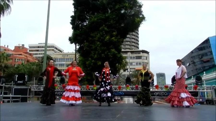 VII Feria Abril Las Palmas Grupo de Baile Andaluz Rafael Fuentes video 06