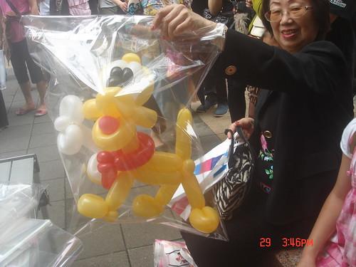 氣球造型編織_街頭藝人13