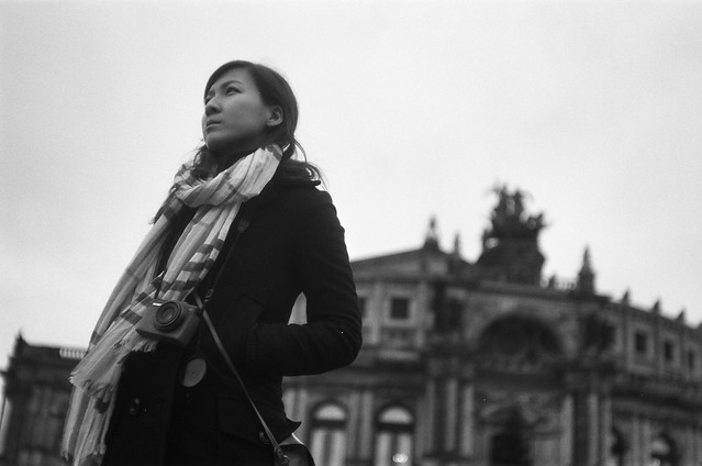Lu in Dresden - Film: TMax100