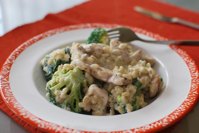 Hühnchen mit Broccoli und Ebly