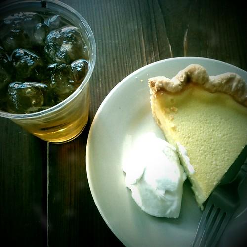 Pie for breakfast at Four & Twenty Blackbirds