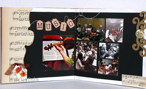 Altered Book: The Music Plays On p.1