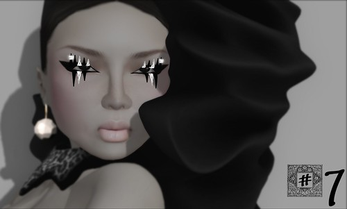 [ #7 ] Let's Play CArds Lashes (individual prim and sculpted)