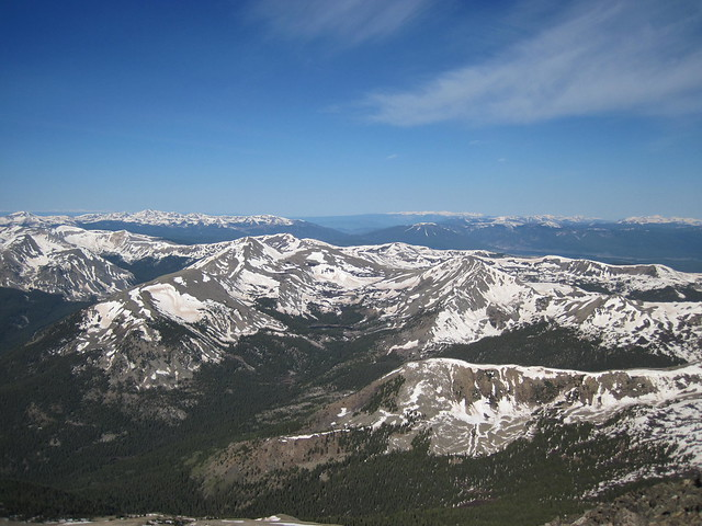 Picture from Mt. Yale, Colorado