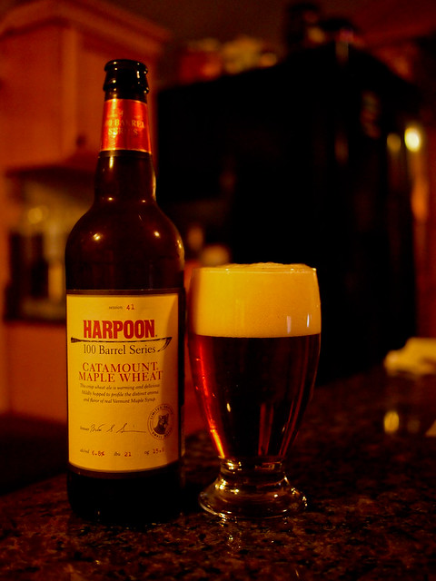 100 Barrel Series #41: Catamount Maple Wheat - Harpoon Brewery