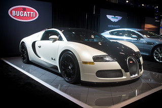 Bugatti Veyron Blanc Noir