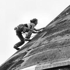 climbing-bw