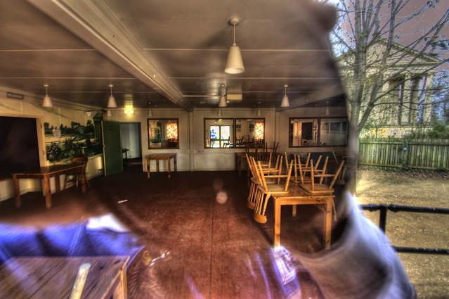 The old tea room