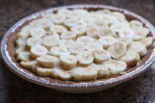 final layer of bananas