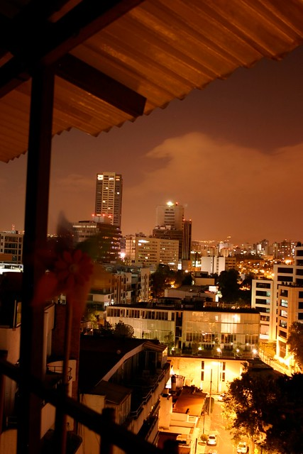 Nighttime in Mexico City