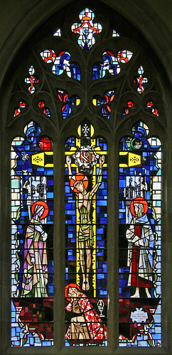 Crucifixion, St. Hilda's church, Whitby by TheRevSteve