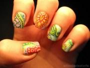 henna nails - sharing