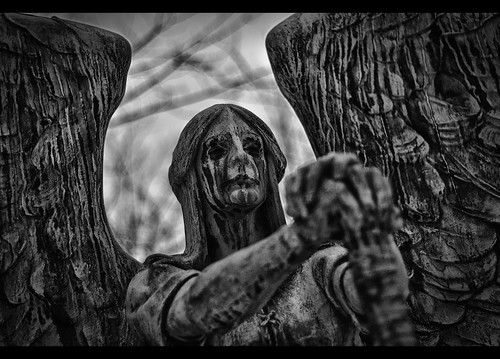 The Angel of Death Victorious Photo Lakeview Cemetery Cl  Flickr