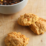 Maple-Cardamom Sweet Potato Biscuits