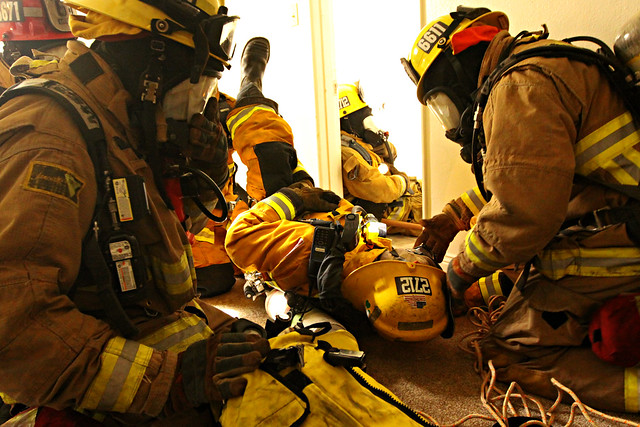 Rescue training for Marine Corps firefighters  Flickr  Photo Sharing
