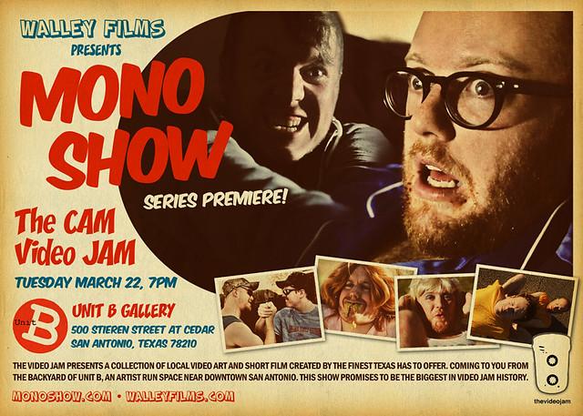 Mono Show Premiere Flyer
