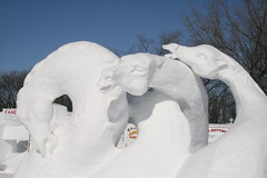 Snow Sculpture 4837
