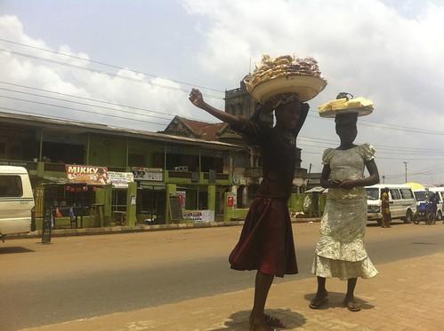 Street Hawkers in Ijebu Ode - Ogun State Nigeria by Jujufilms