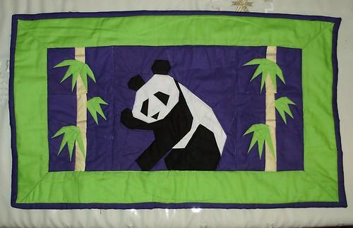 Panda wall-hanging