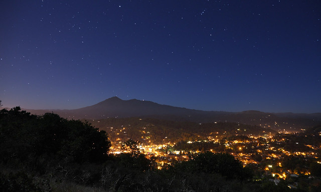 San Rafael on a Full Moon Night