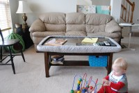 Child-proofing the coffee table | Flickr - Photo Sharing!