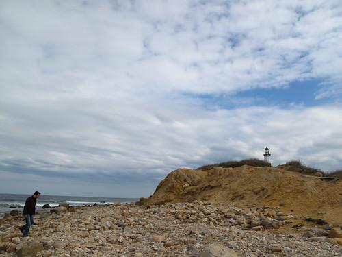 Ari + lighthouse