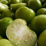Halved Tomatillo - Interior