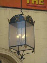gaslight, gas lamp, gaslamp, gas light, Lyceum Theatre ...