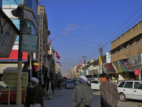 Liaqat Bazaar in Quetta, Balochistan, Pakistan - February 2011