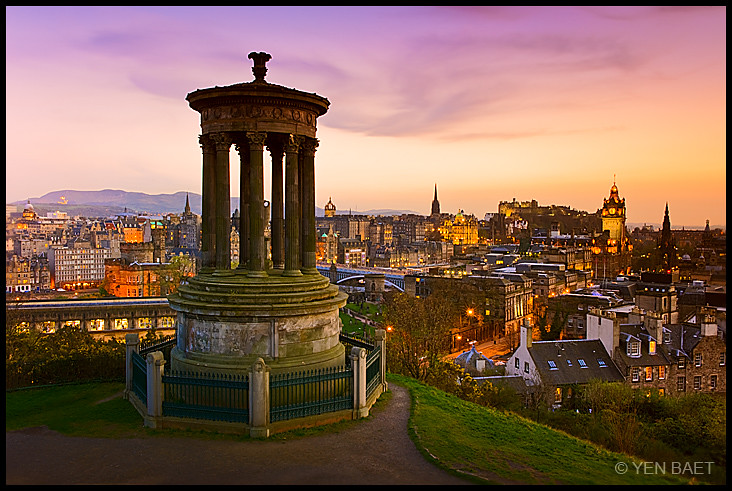 Image result for dugald stewart monument