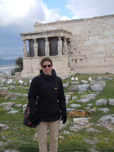 me at the Temple of Athena