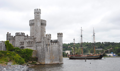 HMS Bounty and Blackrock Castle