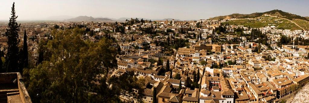 Panorama of Granada 2011
