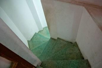 Treppe zur Toilette 2