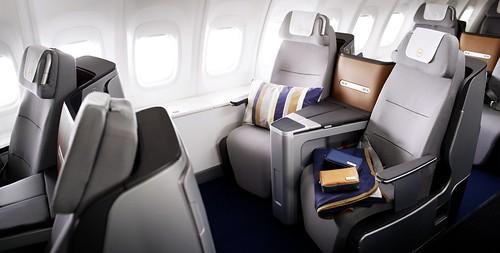 New Lufthansa Business Class