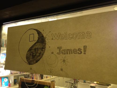 Welcoming CoderDojo's James