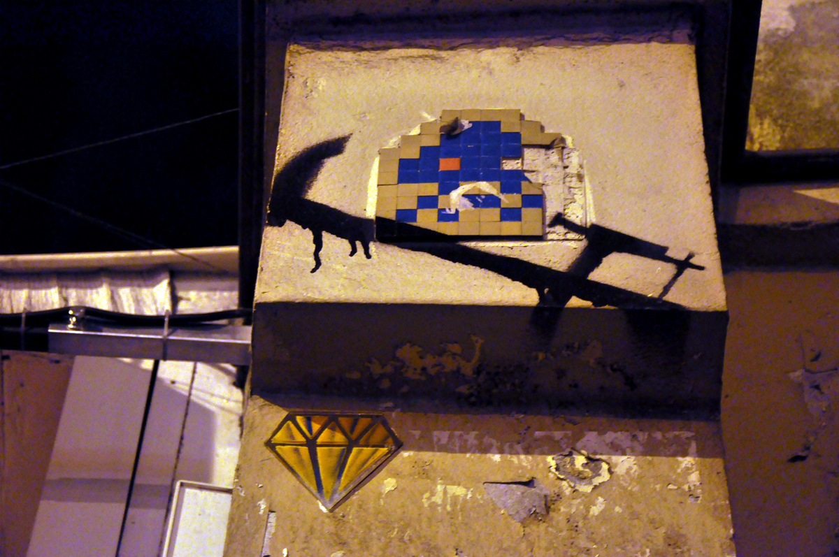 Space Invader Serre-Joint Le Diamantaire