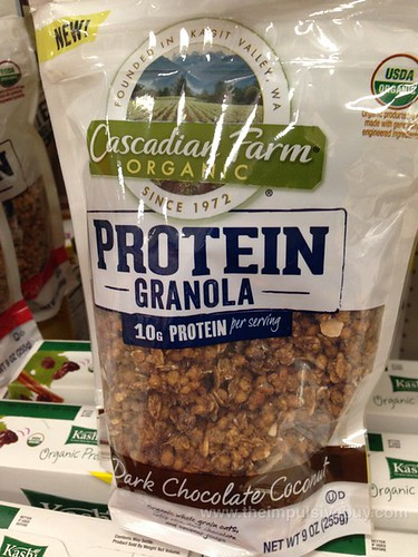 Cascadian Farm Dark Chocolate Coconut Protein Granola